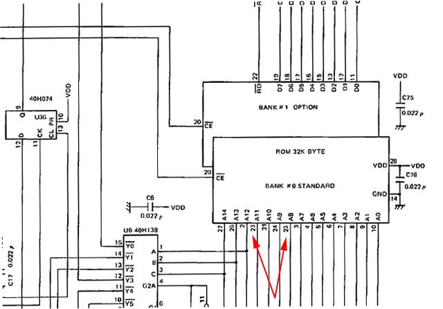 errors in the schematics in the nec 8201a service manual