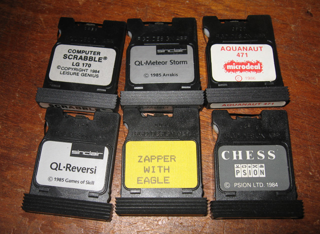 Software for a Sinclair QL : From microdrive to disk drive