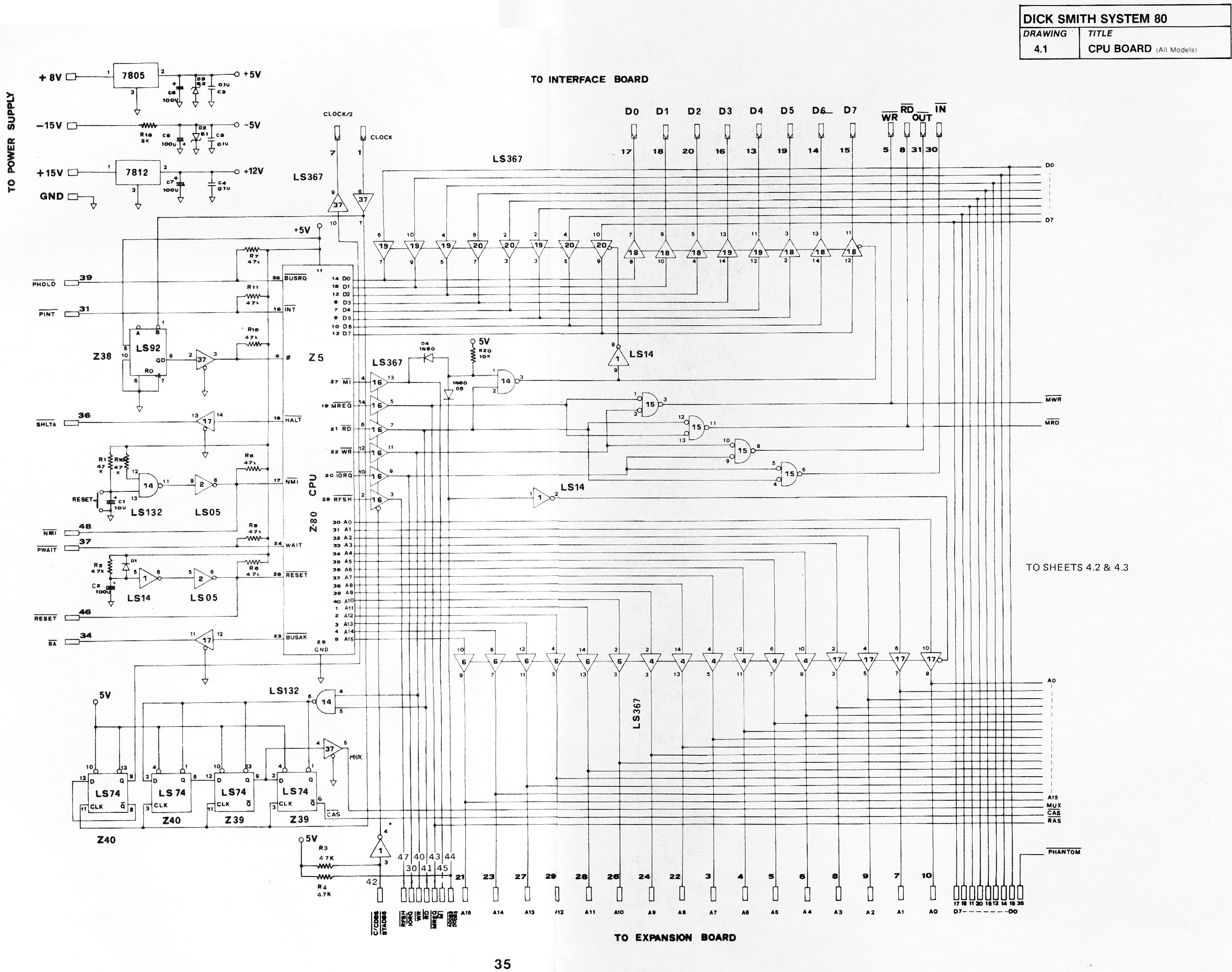 system 80 technical manual