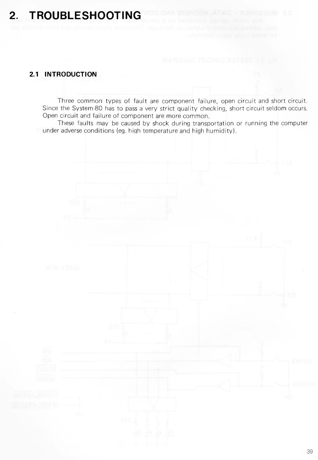 System 80 manuals troubleshooting introduction 39 sciox Images