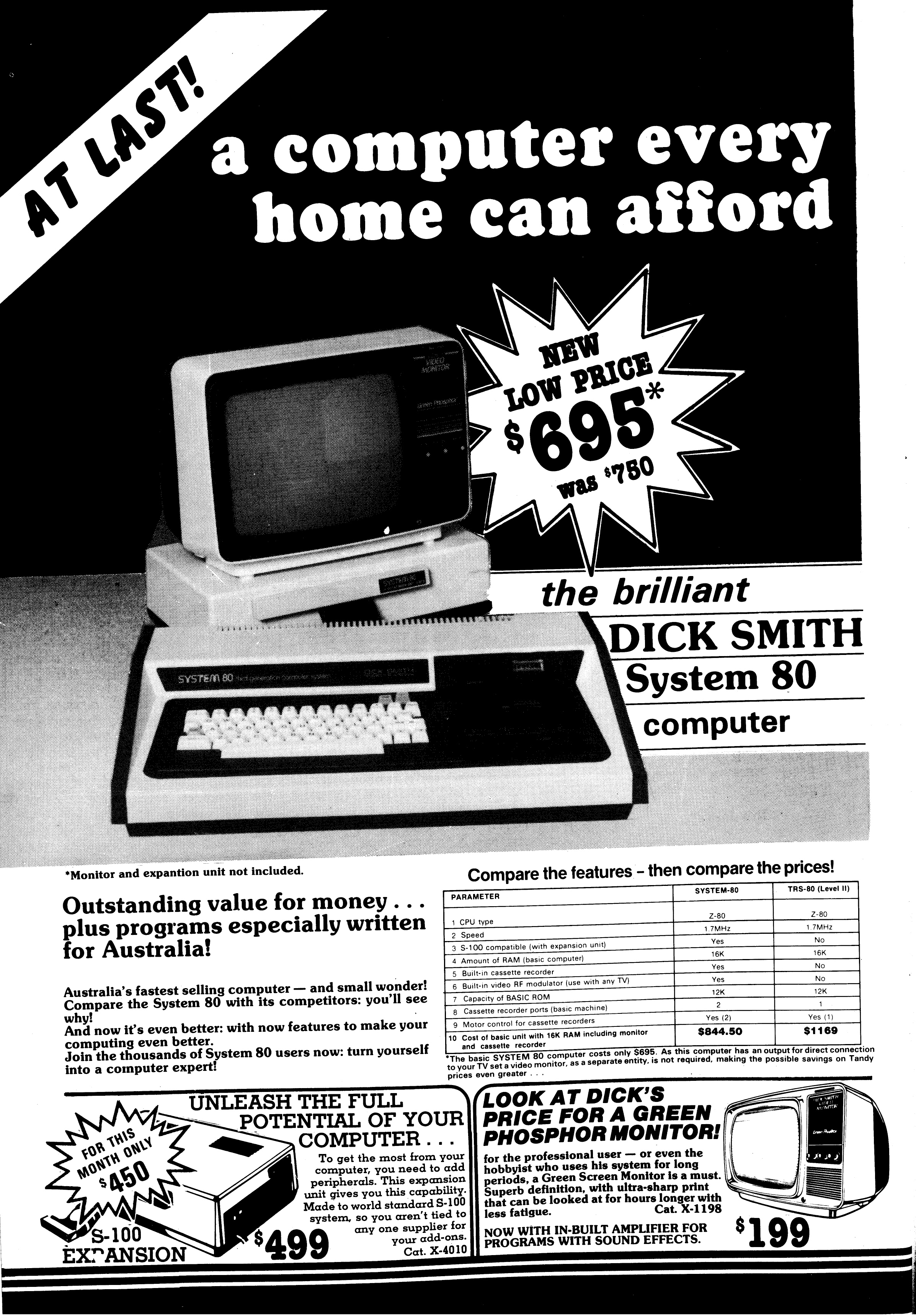 System 80 Resource Site - Advertising